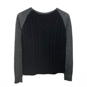 Lululemon St Moritz Cable Knit Wool Sweater